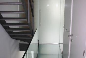 Glazen vloer huis : Glazen vloeren en trappen